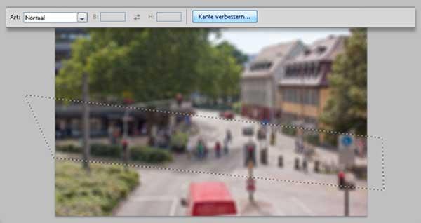 Tilt-Shift Fotos mit Photoshop simulieren 4