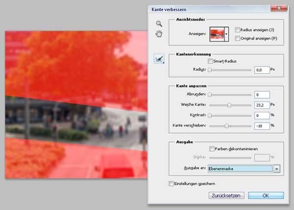 Tilt-Shift Fotos mit Photoshop simulieren 5