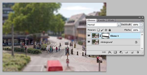 Tilt-Shift Fotos mit Photoshop simulieren 6