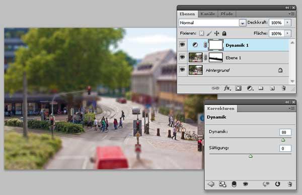 Tilt-Shift Fotos mit Photoshop simulieren 7
