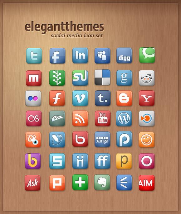 SocialMediaIconSet