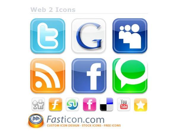 Web2 Icons