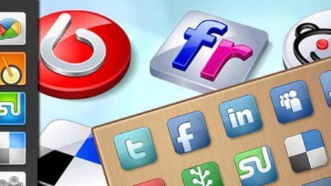 Kostenlose Social Media Icons 1