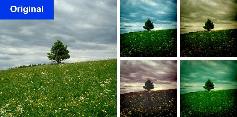 photoshop aktion sky effects