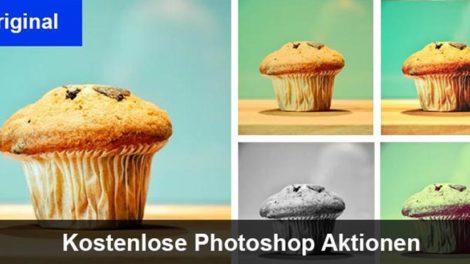 kostenlose Photoshop Aktionen