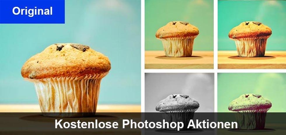 25 kostenlose Photoshop Aktionen