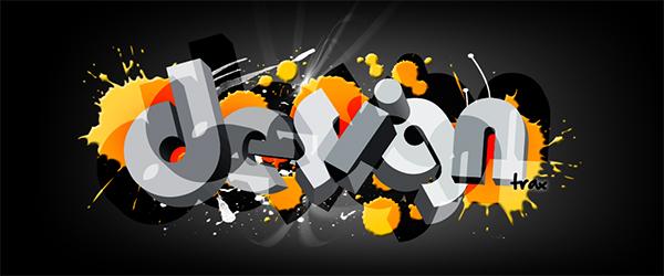 3D Typografie