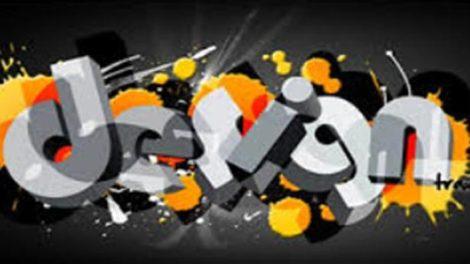 3d typografie photoshop