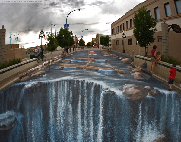 3D Street-Art by Edgar Mueller