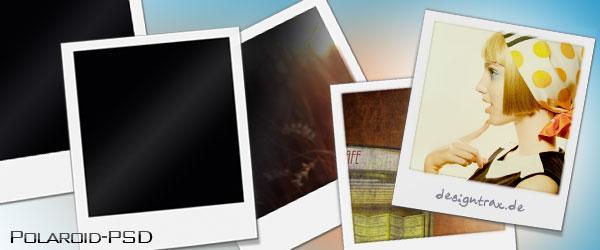Polaroid als PSD zum Download
