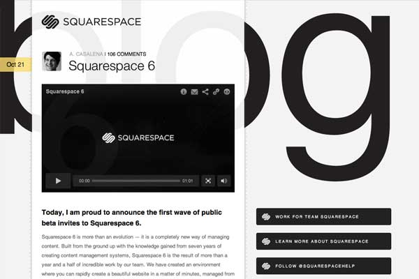 Kreative Blog Designs - Squarespace Blog