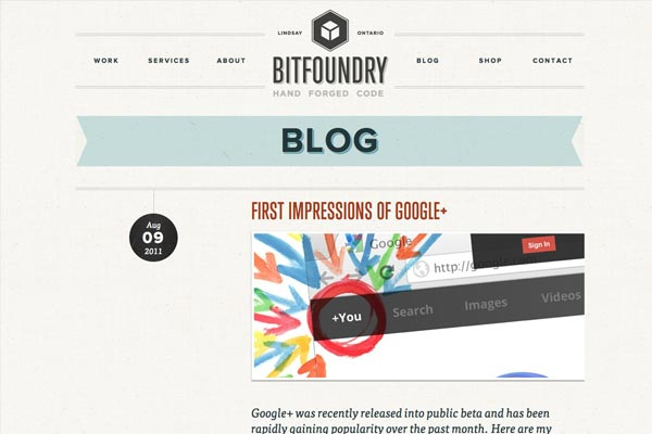 Kreative Blog Designs - BITFUNDRY Blog