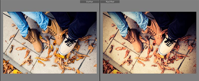 lightroom preset warm vintage