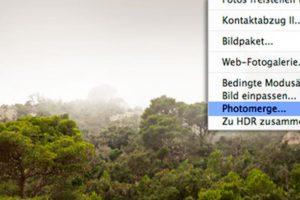 Photoshop-Tutorial: Panorama erstellen 3
