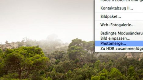 Photoshop-Tutorial: Panorama erstellen 1
