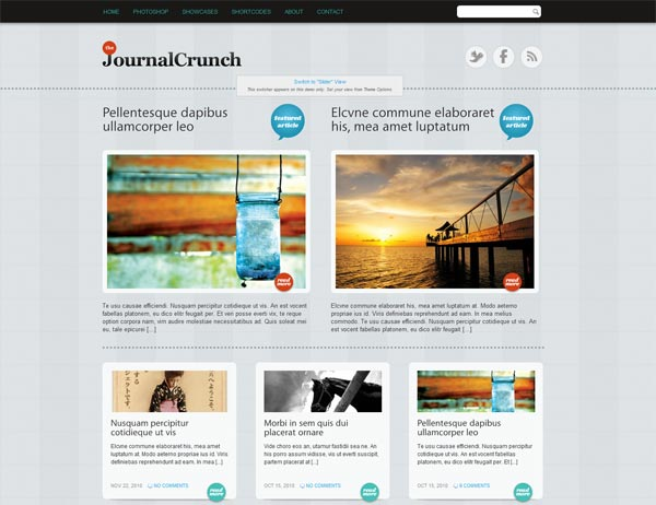 JournalCrunch WordPress Theme