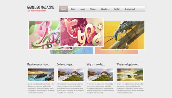 Gameliso Magazine WordPress Theme