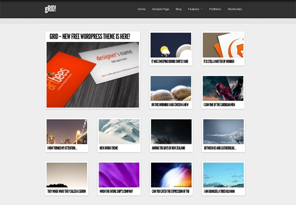 gRID! WordPress Theme
