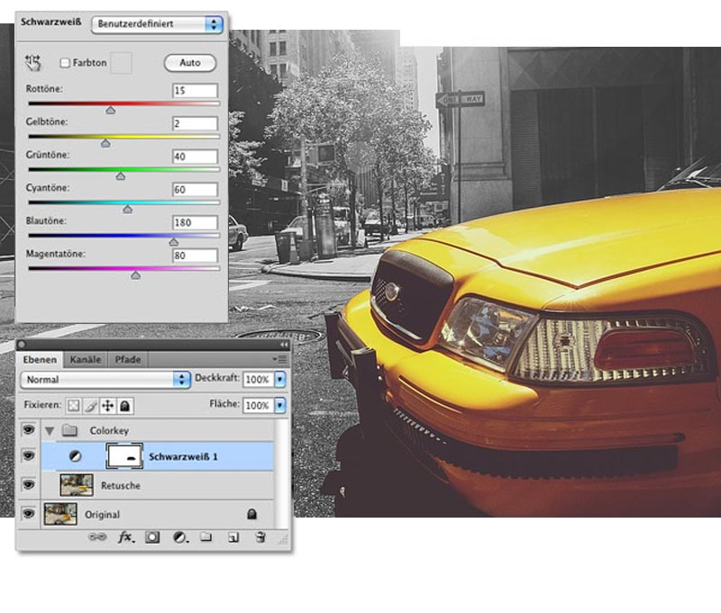 colorkey in photoshop 3