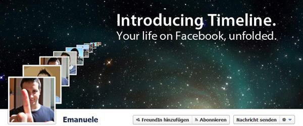 Kreative Facebook Timeline Cover