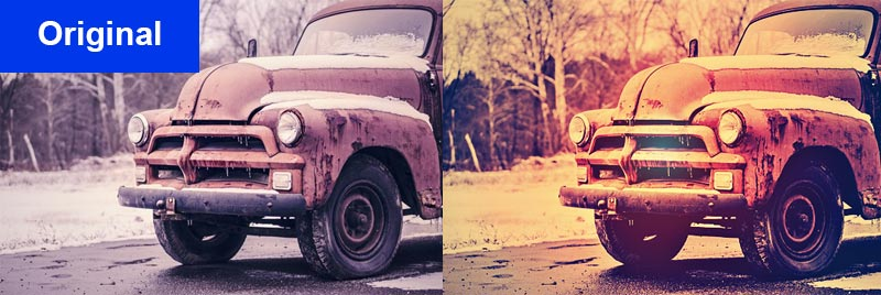 photoshop aktion cool vintage