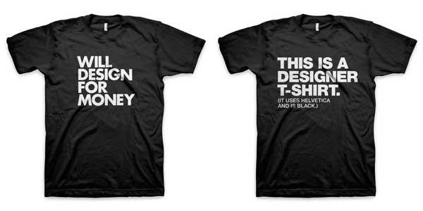 T-Shirts für Designer