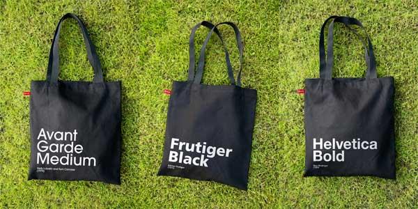 Font Bags