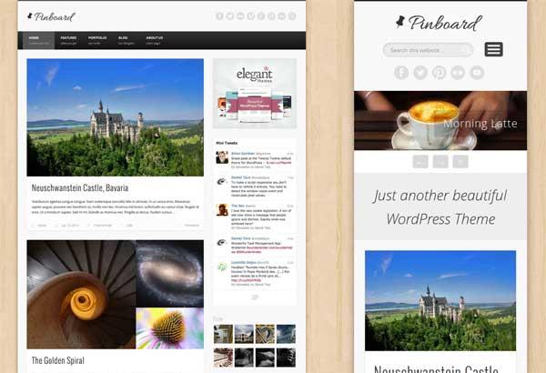 Pinboard Free WordPress Theme
