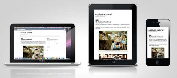 Codium Extend free wordpress theme