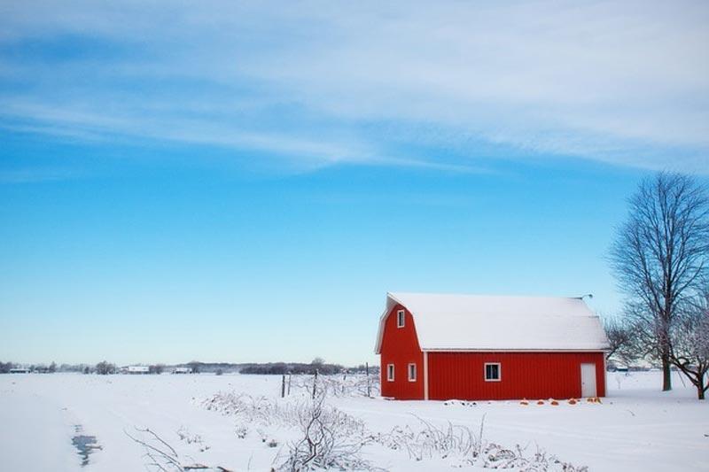 winter fotografie haus schnee