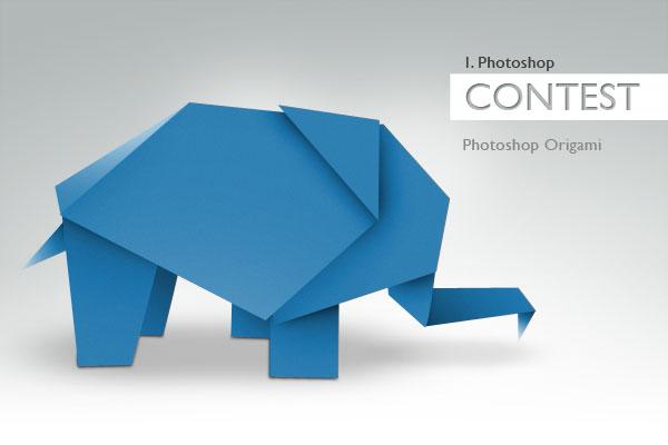 1. Photoshop Contest: Origami-Gewinner 1