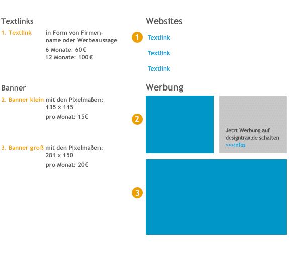 Werben auf designtrax.de 1