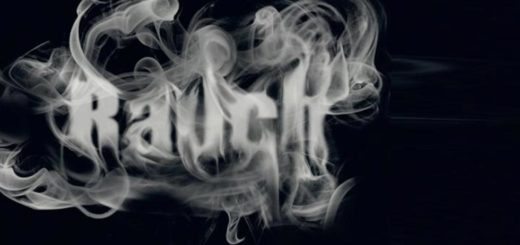 rauchschrfit photoshop