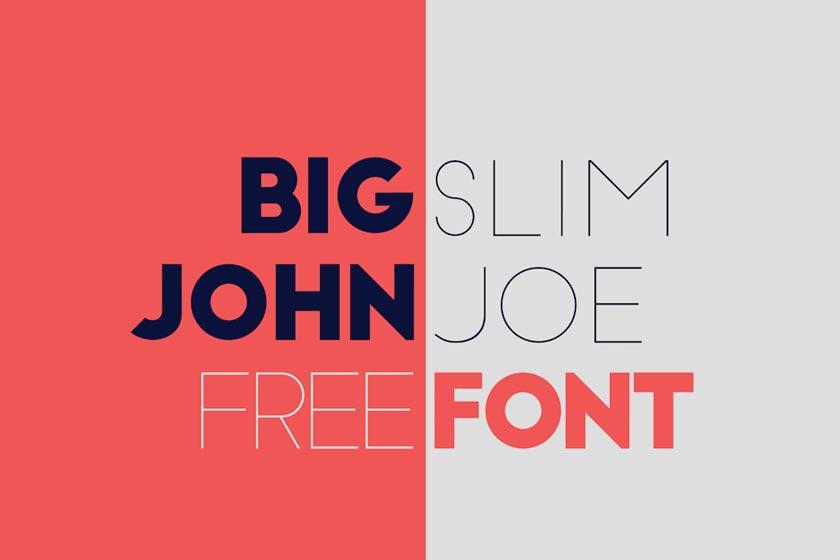 Font Big Slim