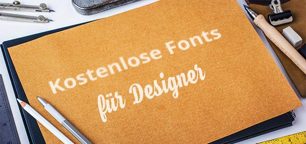kostenlose fonts für designer