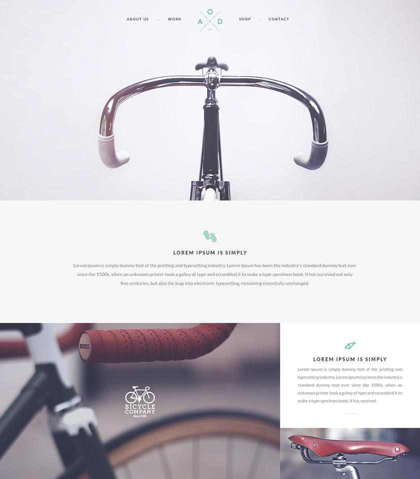 bicycle psd