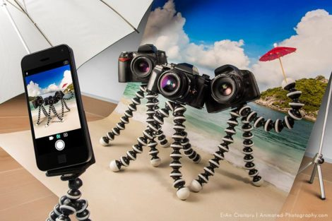 Animated Photography Camera on Vacation