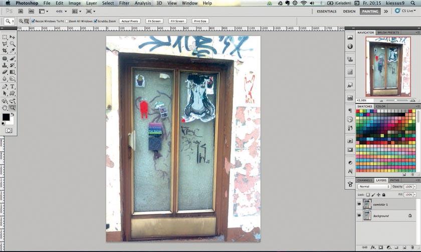 Photoshop Comic Effekt Tutorial Step 1