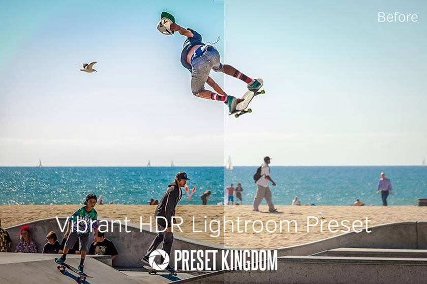free lightroom preset vibrant colors