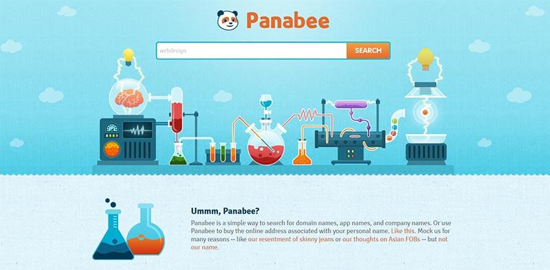 panabee domainnamen tool - kreativer Webauftritt