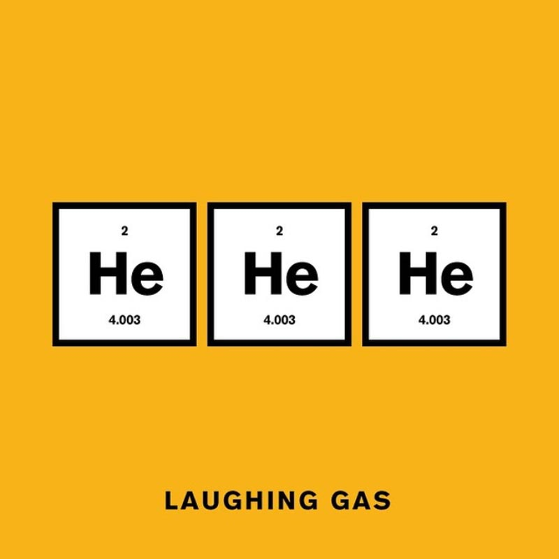 punny pixels laughing gas