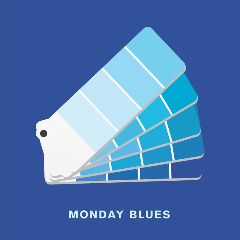 punny pixels monday blues
