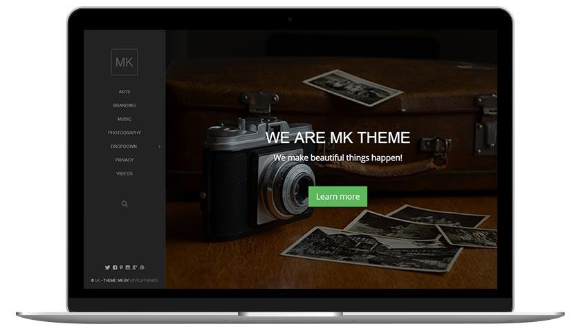 MK WordPress theme