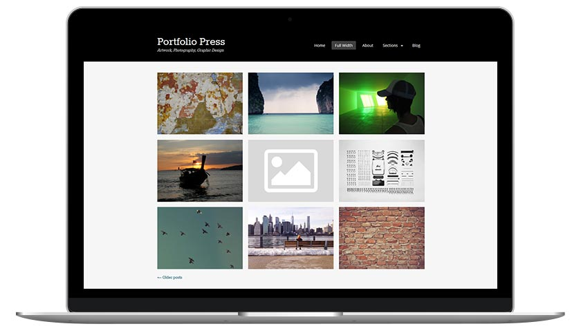 WordPress Themes Portfolio Press
