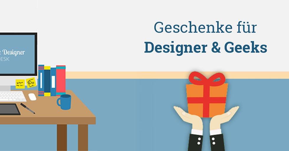 geschenke für designer & geeks