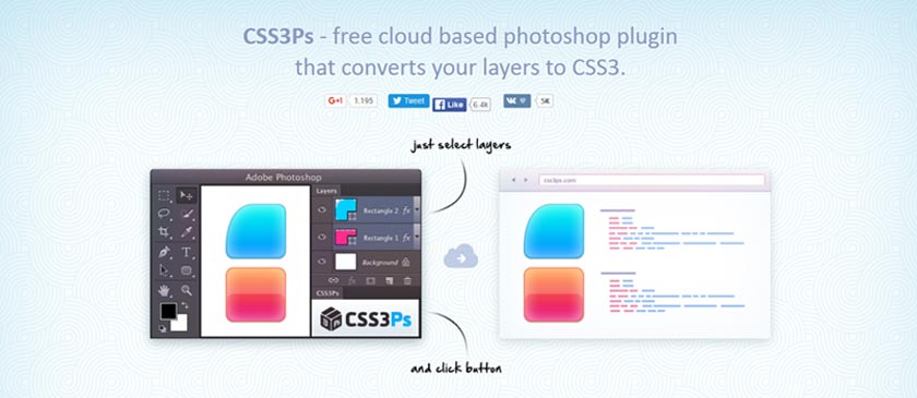 css3 to PS