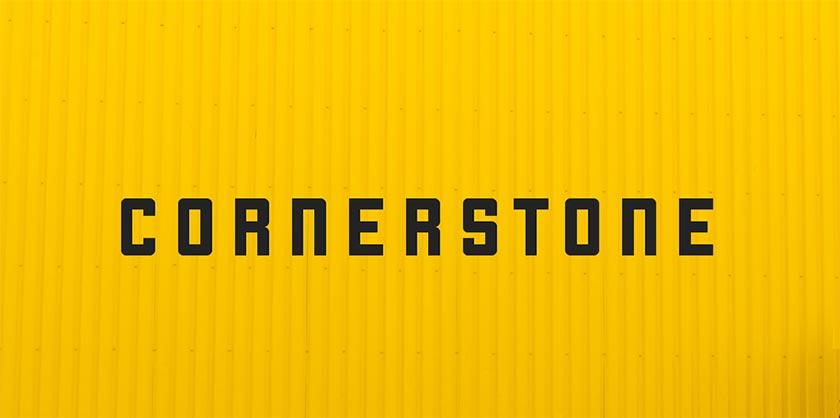 cornerstone font