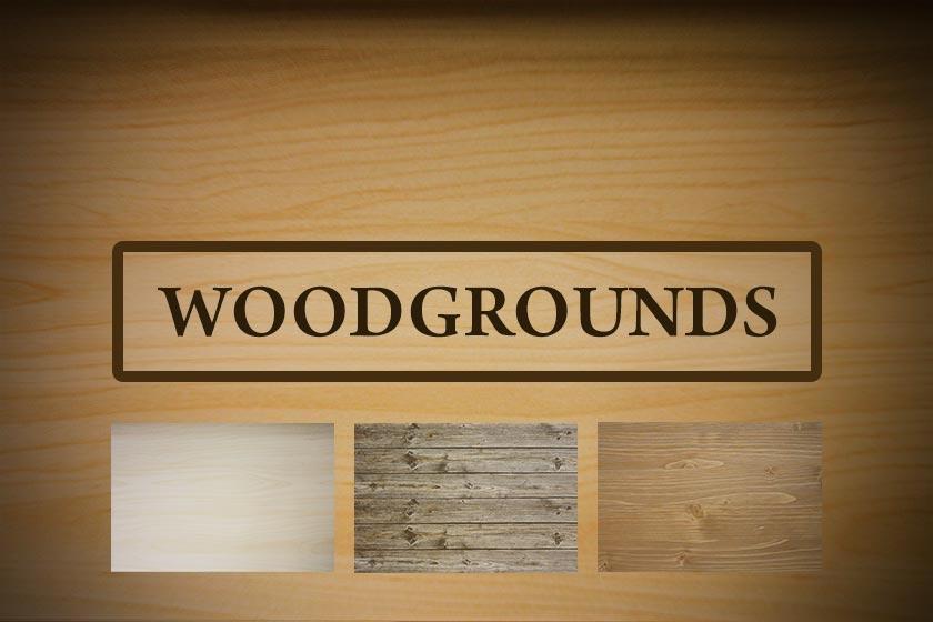 WoodGrounds Holz Hintergründe
