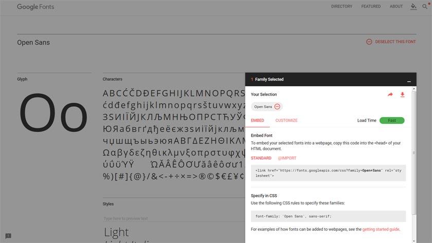 google-fonts-use