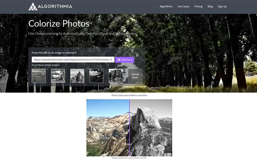 colorize photos - webdesign news